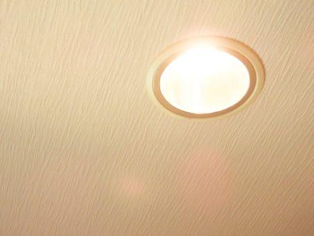 お部屋の照明でリラックス?